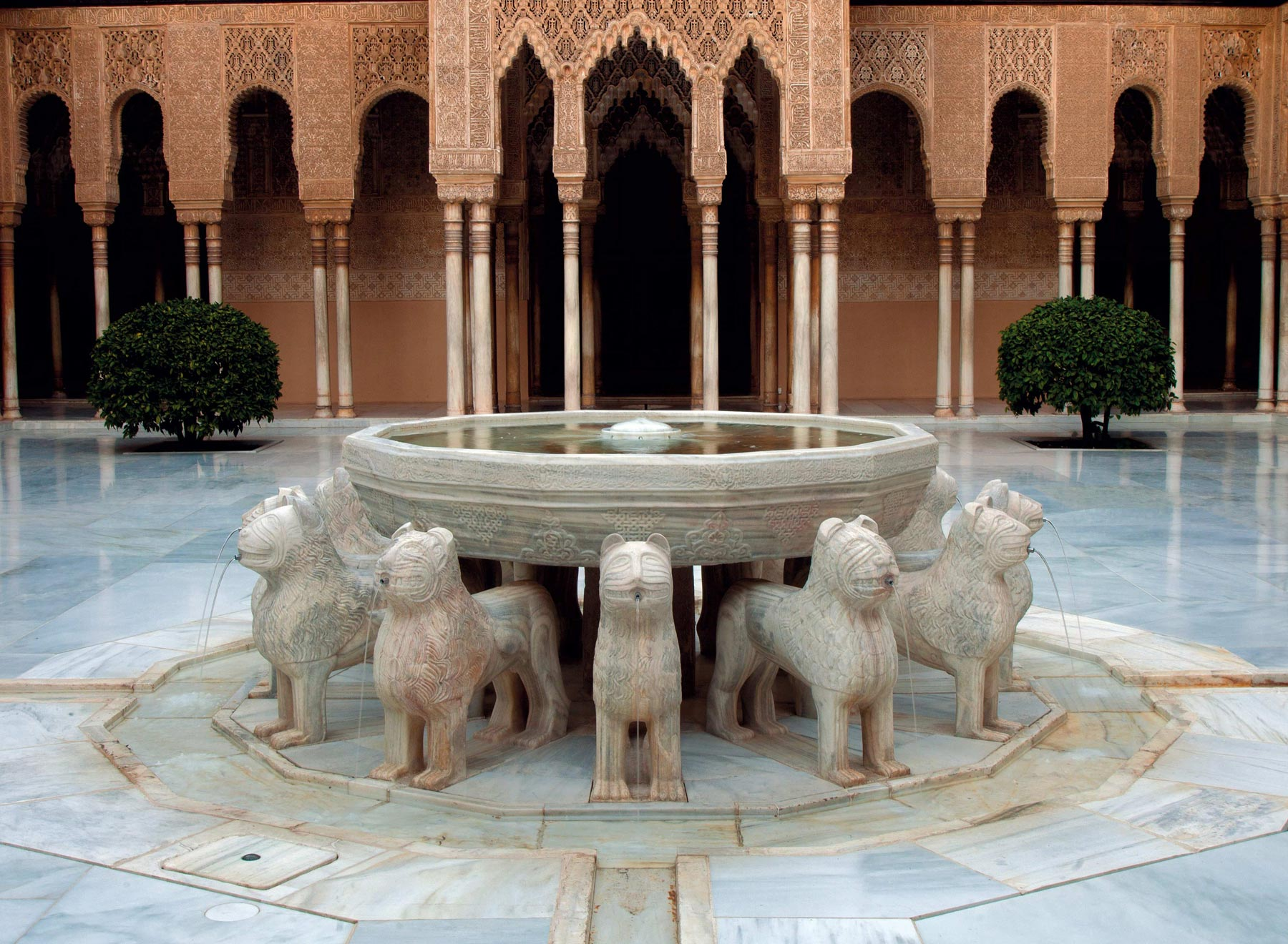 The Fountain Of The Lions European Heritage Awards